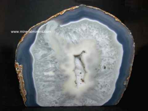 Agate Mineral Specimen: Agate Geode