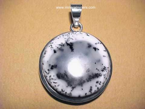 Moss Agate Necklaces and Jewelry
