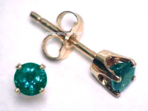4mm Natural Brazilian Alexandrite Earrings Item