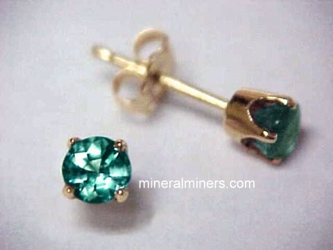 Select Any Natural Alexandrite Earring Image Below To Enlarge It