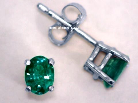 Alexandrite Earrings Natural