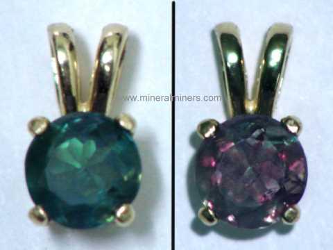 Alexandrite necklaces natural alexandrite necklaces pendants 14k gold natural alexandrite pendant 065 carats item alxj209alexandrite jewelry aloadofball Images