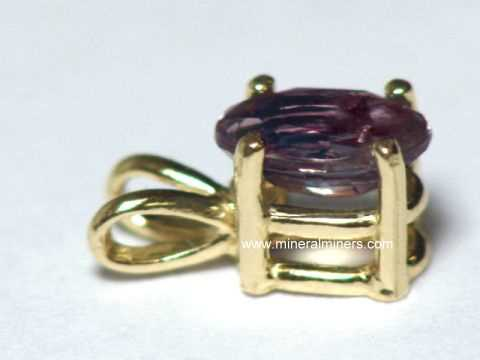 Alexandrite necklaces natural alexandrite necklaces pendants 14k gold natural alexandrite pendant item alxj219alexandrite jewelry aloadofball Images