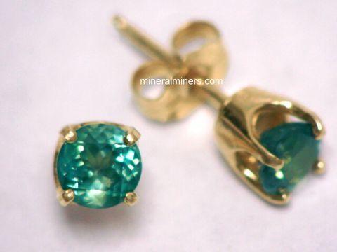 Alexandrite Earrings Ametrine