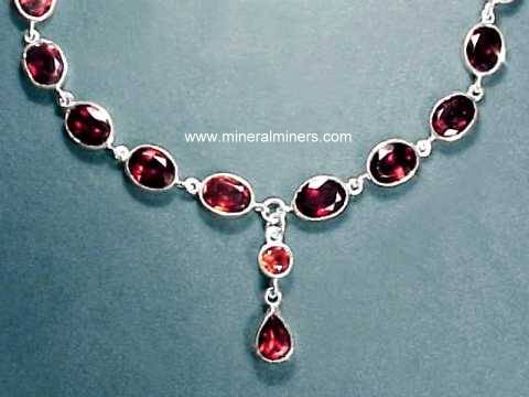 Garnet necklaces natural garnet necklaces natural red almandine garnet necklace item aloadofball Images