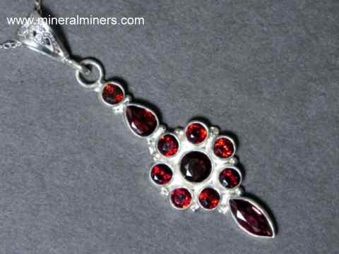 2bf56015d1538 Garnet Jewelry - natural garnet jewelry of all garnet varieties
