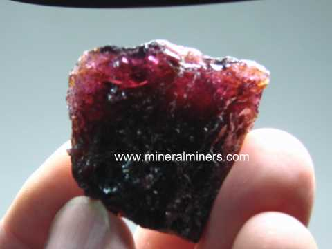 Almandine Garnet Gem Rough