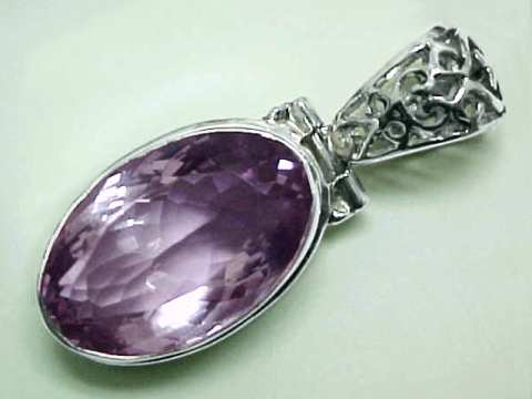 Amethyst jewelry natural amethyst jewelry large amethyst pendant in sterling silver item amej252amethyst jewelry aloadofball Gallery