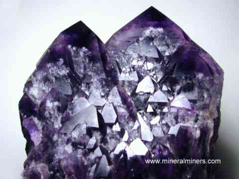 Amethyst Facet Rough (natural amethyst gemstone faceting rough)
