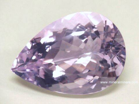 76.00 Cts Amethyst VVS Natural Amethyst Rose De France AAA Premium Certified Pear Faceted Cut Gemstone ~ 33mmx23mmx18mm