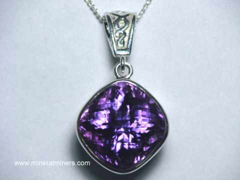 Natural Color Amethyst Jewelry