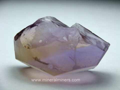 Ametrine Facet 