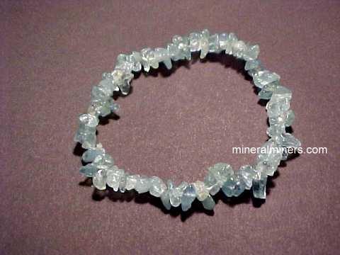 Aquamarine Bracelet Item Aquj266x