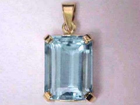 Aquamarine pendants natural aquamarine pendants item aquj405aquamarine pendant aloadofball Image collections