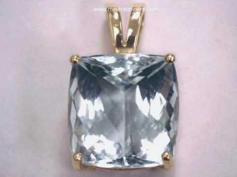 Aquamarine pendants natural aquamarine pendants large aquamarine pendant in 14k gold item aloadofball Image collections