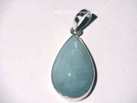 Aquamarine jewelry natural aquamarine jewelry item aquj428eaquamarine pendant aloadofball Gallery
