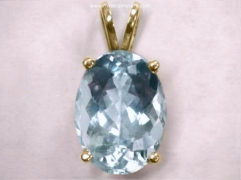 Aquamarine jewelry natural aquamarine jewelry aquamarine pendant in 14k gold item aloadofball Image collections