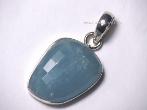 Aquamarine rare decorator collector items item aquj500aquamarine pendant aloadofball Image collections