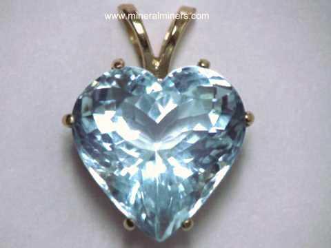 Aquamarine pendants natural aquamarine pendants item aquj535aquamarine jewelry aloadofball Image collections