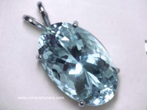 Aquamarine jewelry natural aquamarine jewelry large aquamarine pendant in 14k white gold item aquj537aquamarine jewelry aloadofball Gallery