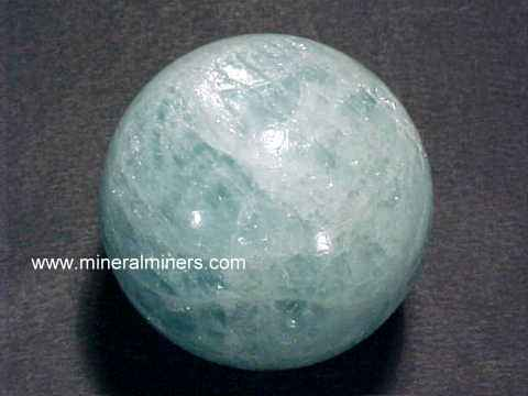 Aquamarine Spheres