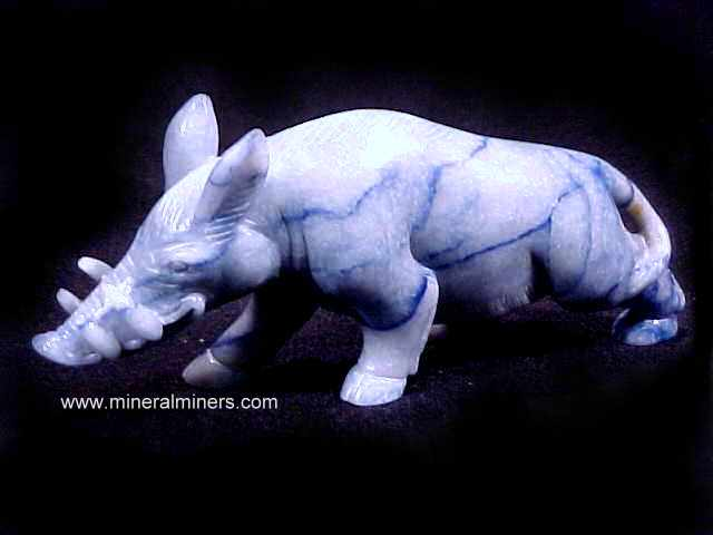 Blue Aventurine Quartz Carvings and Handcrafted Gifts