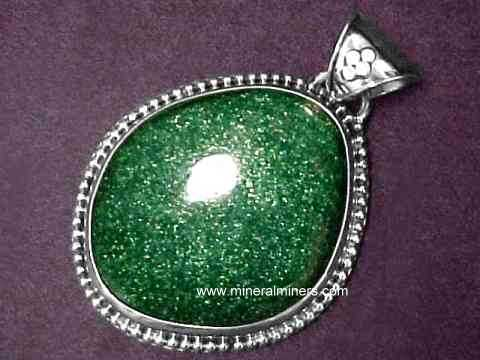 Aventurine Jewelry: natural color green aventurine jewelry
