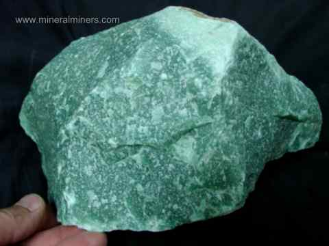 Green Aventurine Rough Specimens: natural green fuchsite mica in quartzite