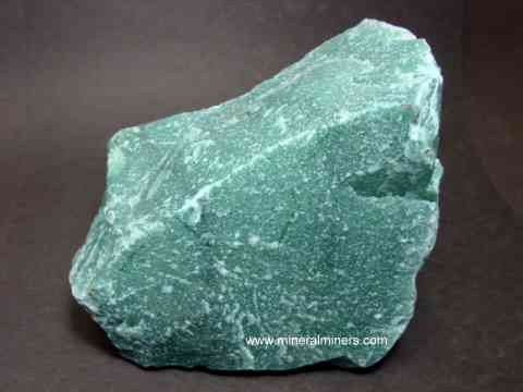 Green Aventurine Quartz Lapidary Rough