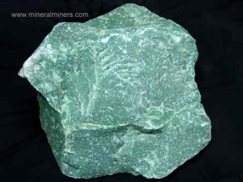 Green Aventurine Quartz Rough Mineral Specimen