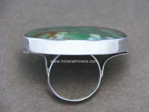 Giant Bloodstone Ring in Sterling Silver: Item bldj143