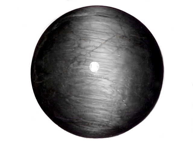 Cat/'s Eye Black Cabochon Stones             177