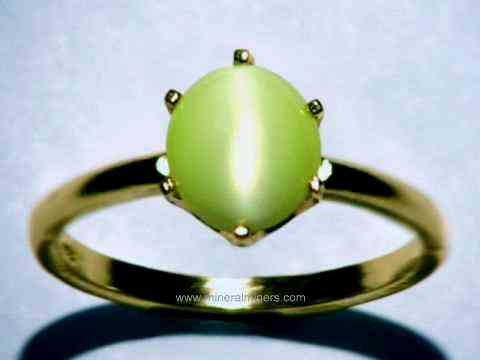 muchael eyes and jewelry chrysoberyl eye star rings cats