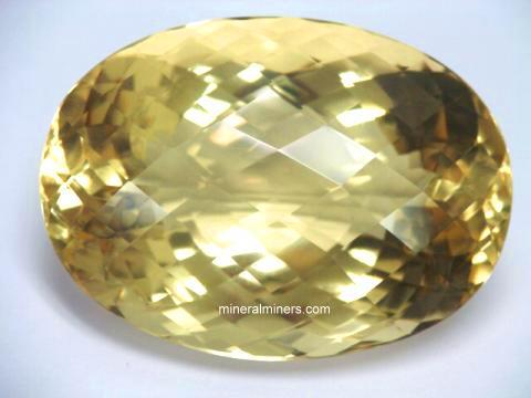 Flawless Natural Color Citrine Gemstone, over 400 carats!