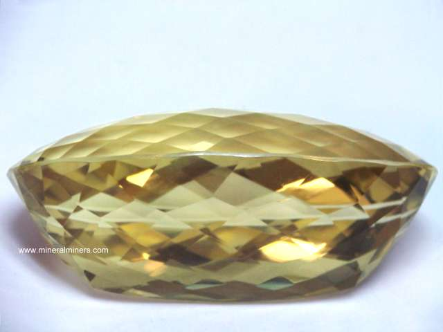 Natural Citrine Gemstone