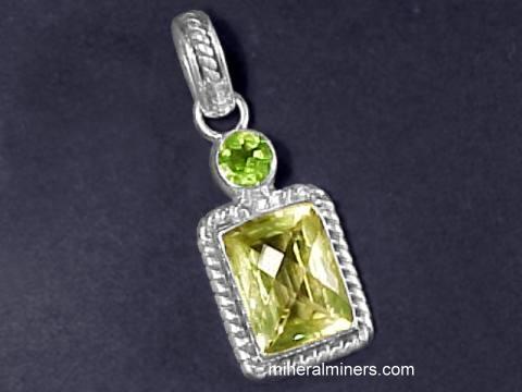 Citrine jewelry genuine citrine pendants rings bracelets and item citj185 aloadofball Choice Image