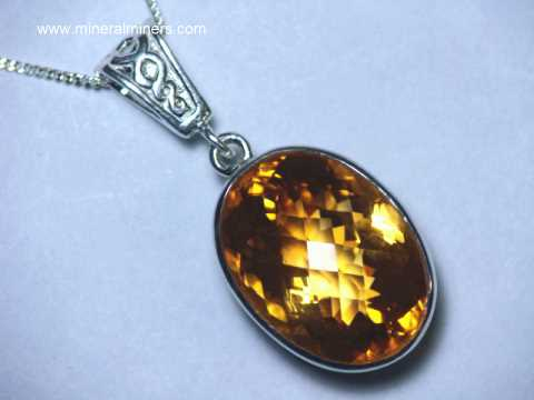 Golden Citrine Jewelry