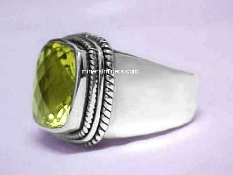 Citrine Ring: Lemon Citrine Ring