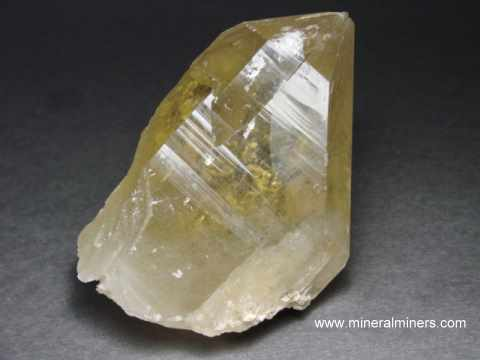 Natural Color Citrine Mineral Specimen