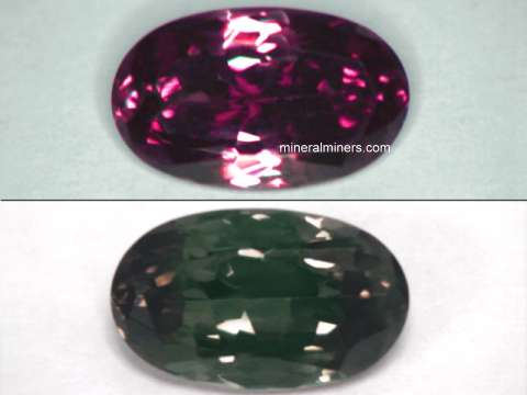 Color Change Garnet Gemstones