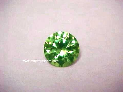 Demantoid Gemstones