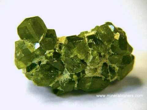 Demantoid Crystals