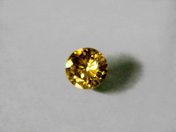 brownish deep yellow fancy diamond carat corporation diamonds finesse