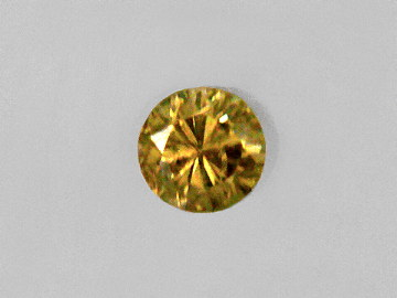 fancy id diamonds light diamond carat yellow brownish clarity heart