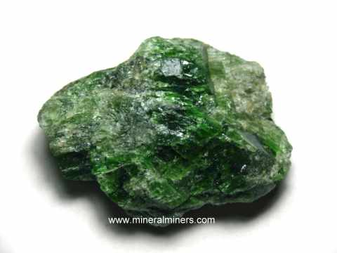 Diopside Mineral Specimens and Diopside Crystals