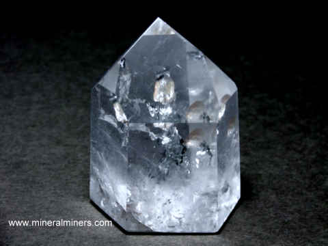 Elestial Crystal: Elestial Quartz Polished Crystal