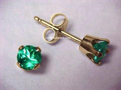 Item Emej126y Emerald Earrings