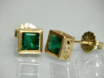 Item Emej178 Emerald Earrings