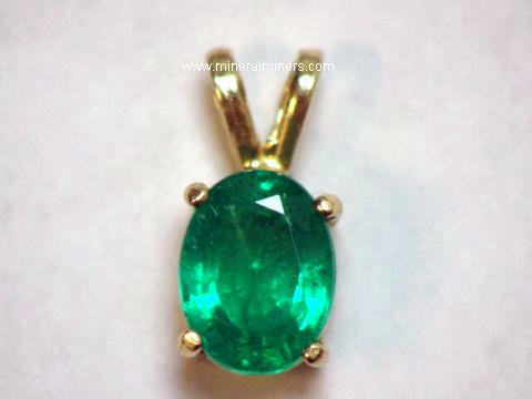 Emerald necklaces genuine emerald necklaces 166 carat colombian emerald pendant in 14k gold item emej195emerald jewelry aloadofball Choice Image
