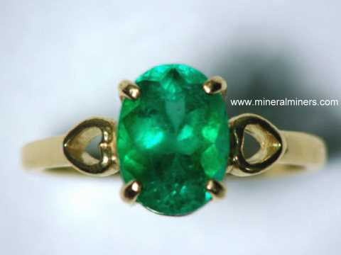 Emerald Rings Genuine Emerald Rings